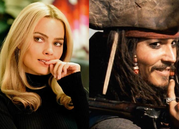 Margot Robbie sera la star d'un nouveau film — Pirates des Caraïbes
