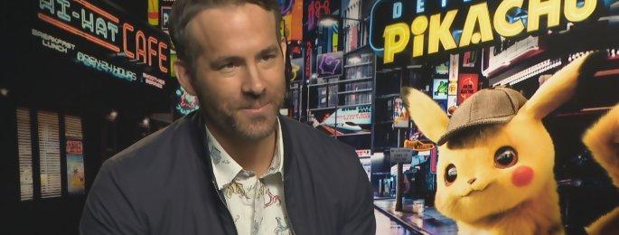 """Ryan Reynolds : 'Detective Pikachu est une sorte de Deadpool... sans les insultes"""""""
