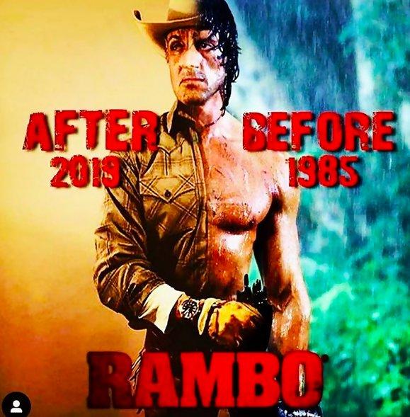 Rambo 5 : Sylvester Stallone partage de nouvelles photos de