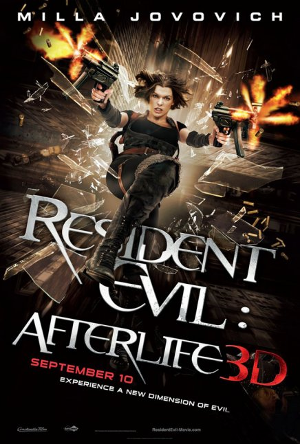 Aux fans de décider de l'histoire Resident Evil 5 avec Milla Jovovich