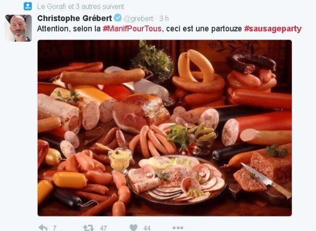 Saucisse Party -la vie privée des aliments