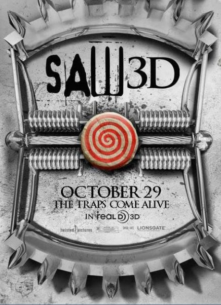 Saw 3D de Kevin Greutert : 2 nouvelles affiches