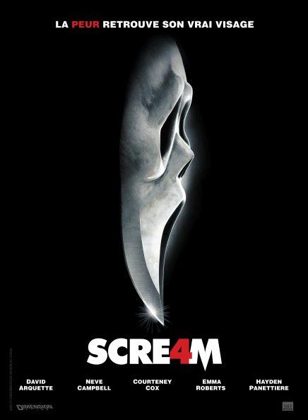 la nouvelle affiche française de Scream
