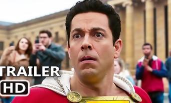 SHAZAM! : humour et action pour le héros DC opposé à Captain Marvel (trailer)