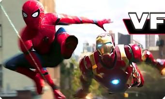 SPIDER-MAN HOMECOMING : La bande annonce est enfin là !