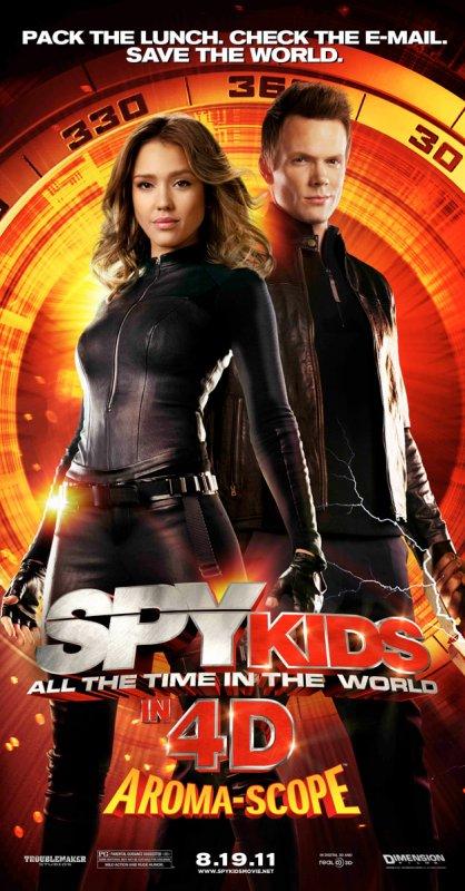 Spy Kids 4 : les affiches