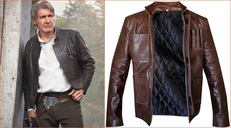 manteau cuir star wars