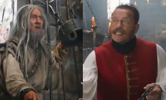 Arnold Schwarzenegger se bat contre Jackie Chan dans cet extrait de The Iron Mask