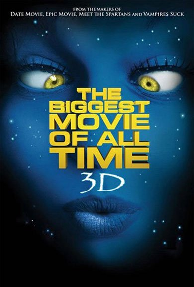 La parodie d'avatar : the Biggest Movie of all Time