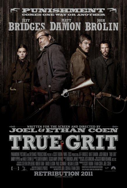 True Grit des frères Coen : le poster international