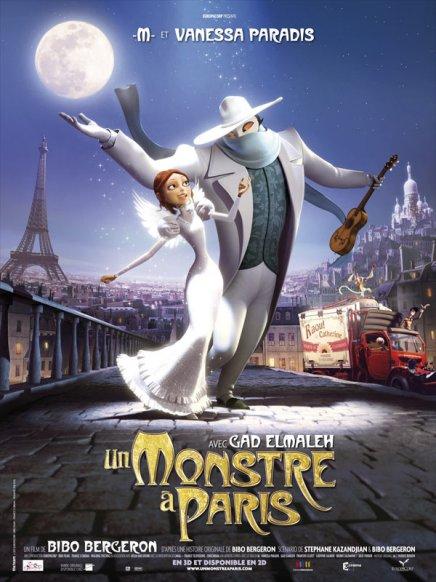 Un monstre à Paris : affiches et photos