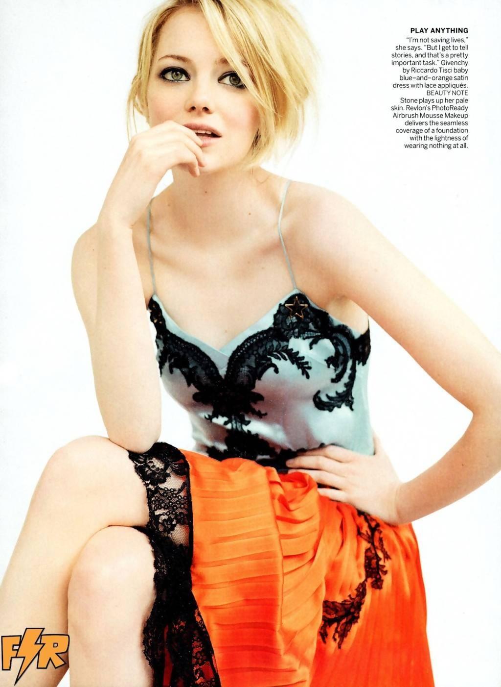 Emma Stone Nue  Photos Et Vidos Sexy-7158