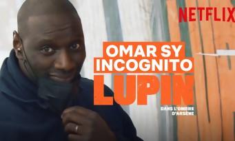 Incognito, Omar Sy pose lui-mêmes des affiches Lupin dans le métro parisien