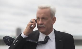 """Tom Hanks : """"Je vous déconseille vraiment de prendre l'avion avec moi""""  Sully"""