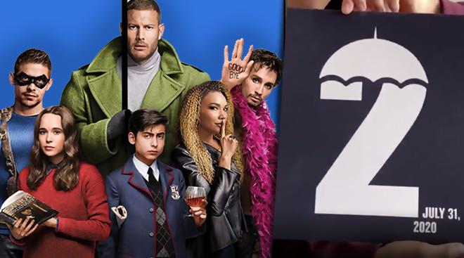 La date de la saison 2 enfin dévoilée par Netflix — Umbrella Academy